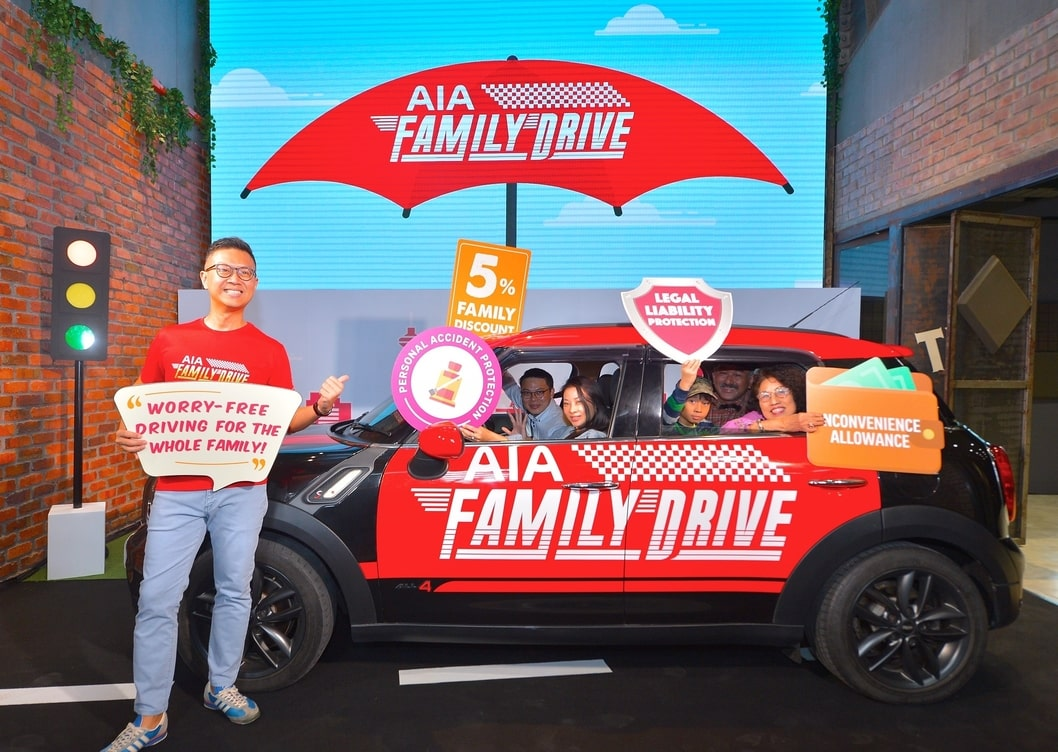 AIA General Berhad Redefines Car Insurance  with AIA Family Drive