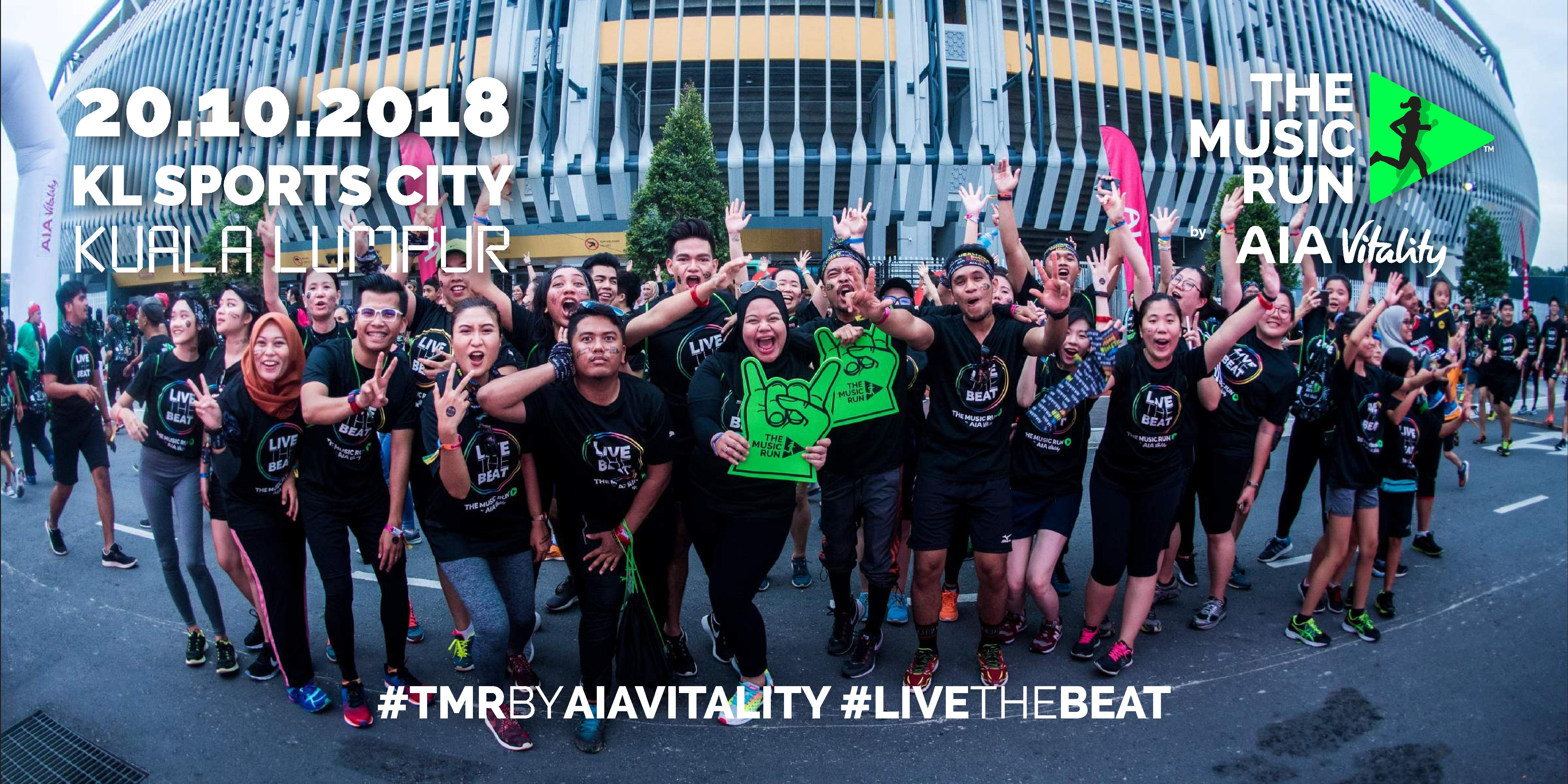 The Music Run by AIA Vitality 2018