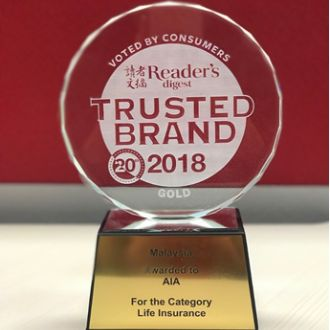 Reader's Digest Trusted Brand 2018-Life Insurance