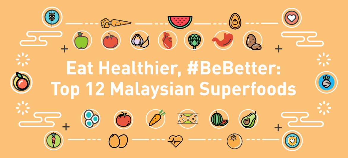 Eat Healthier, #BeBetter: Top 12 Malaysian Superfoods
